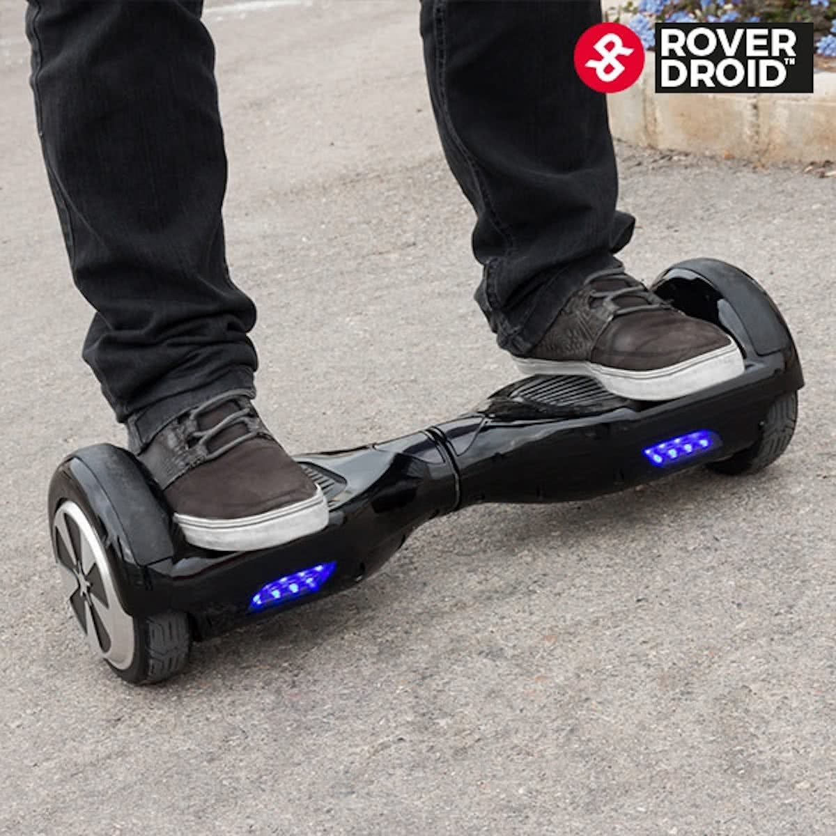 hoverboard oxboard zwart met blutooth led verlichting en. Black Bedroom Furniture Sets. Home Design Ideas