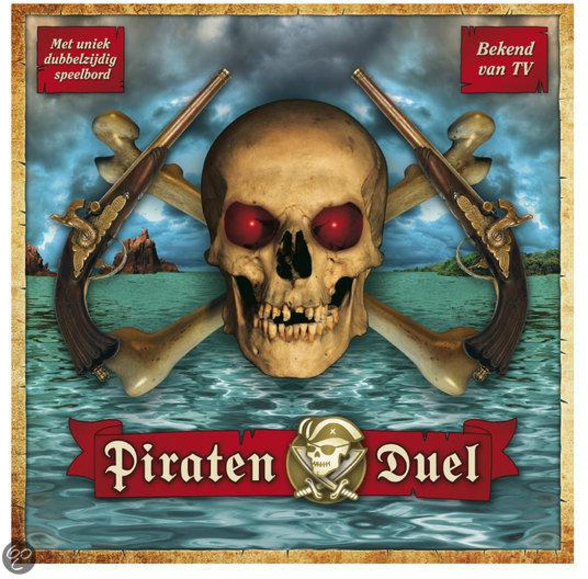 Het Piratenduel - Bordspel