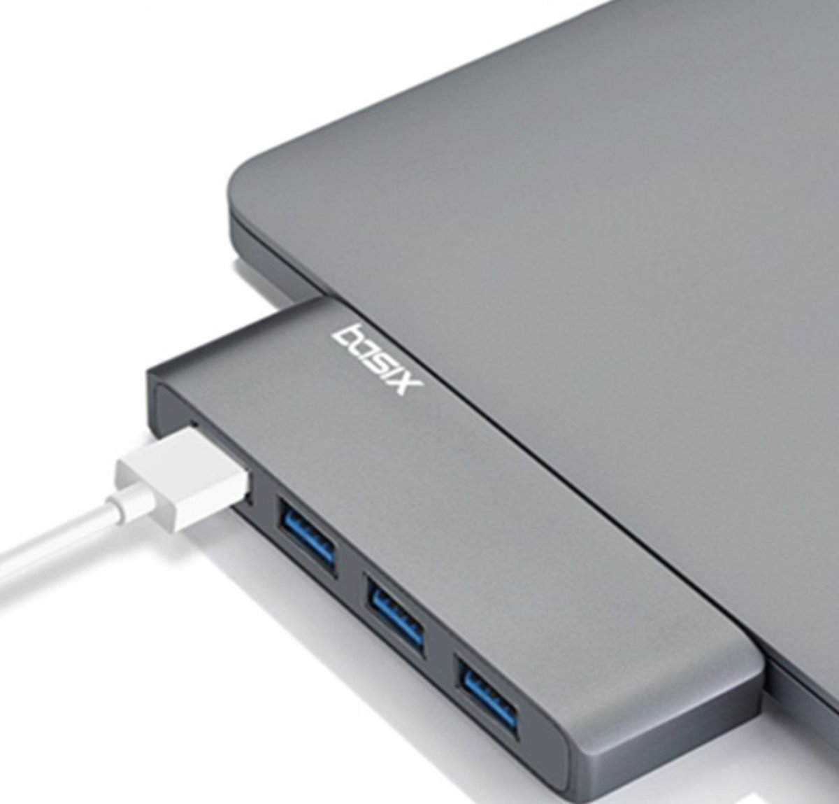 - Type C naar 4x USB 3.0 -   - Multipoort Adapter - Space Grey