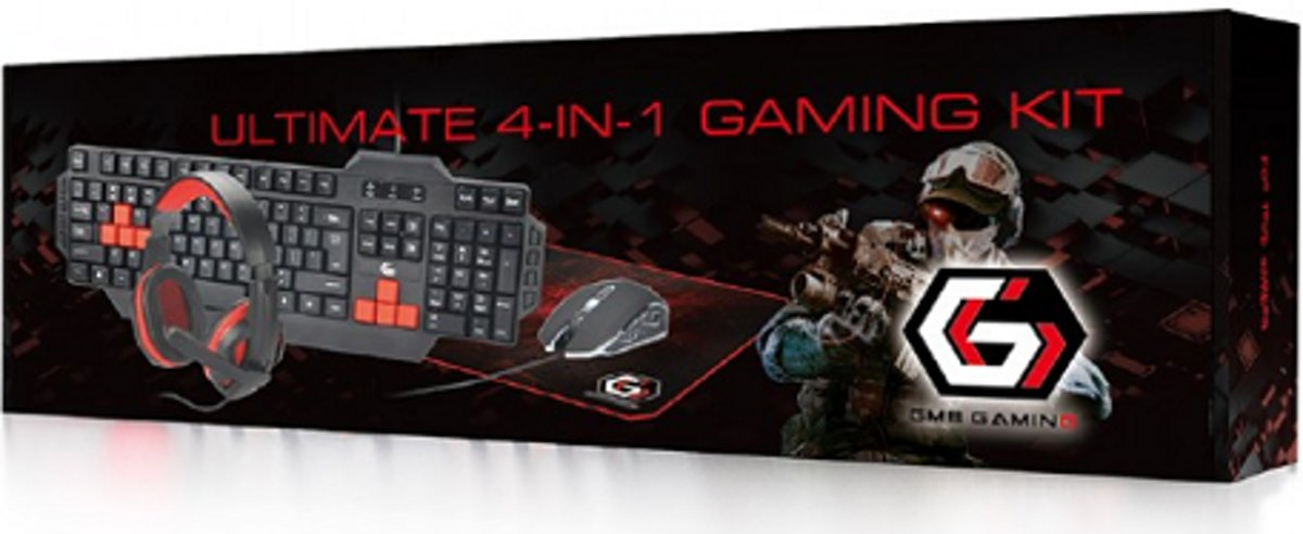 Super cool 4-in-1 Gaming Kit voor de echte