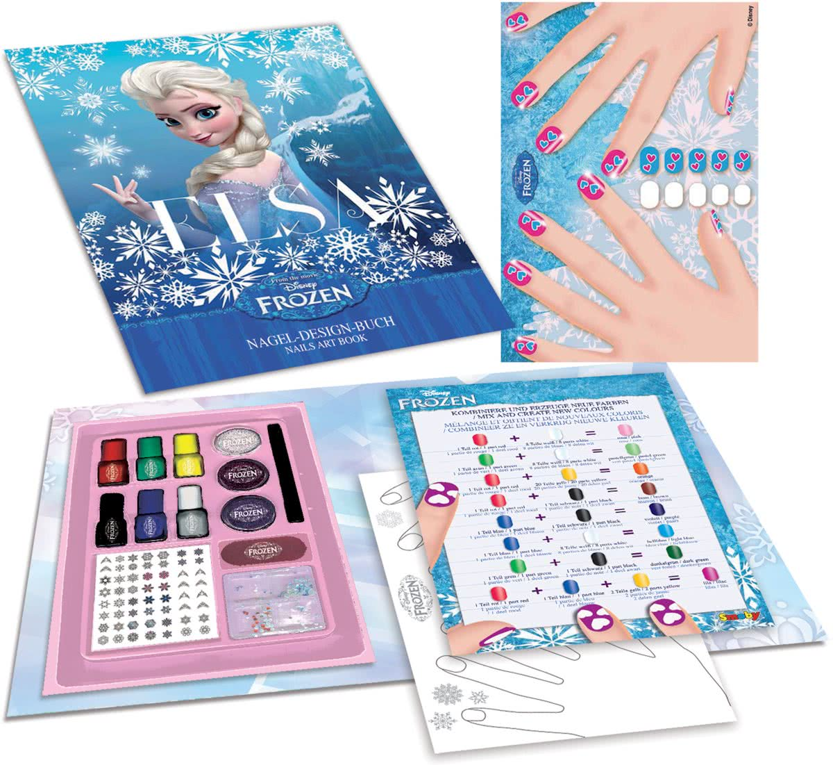 Disney Frozen - Nail-art boek