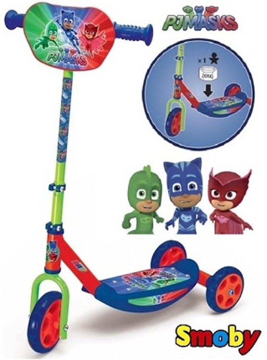SMOBY PJ Masks driewielstep scooter