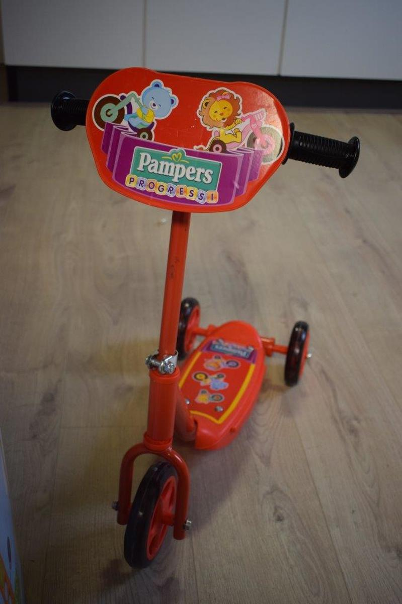 Step driewieler pampers