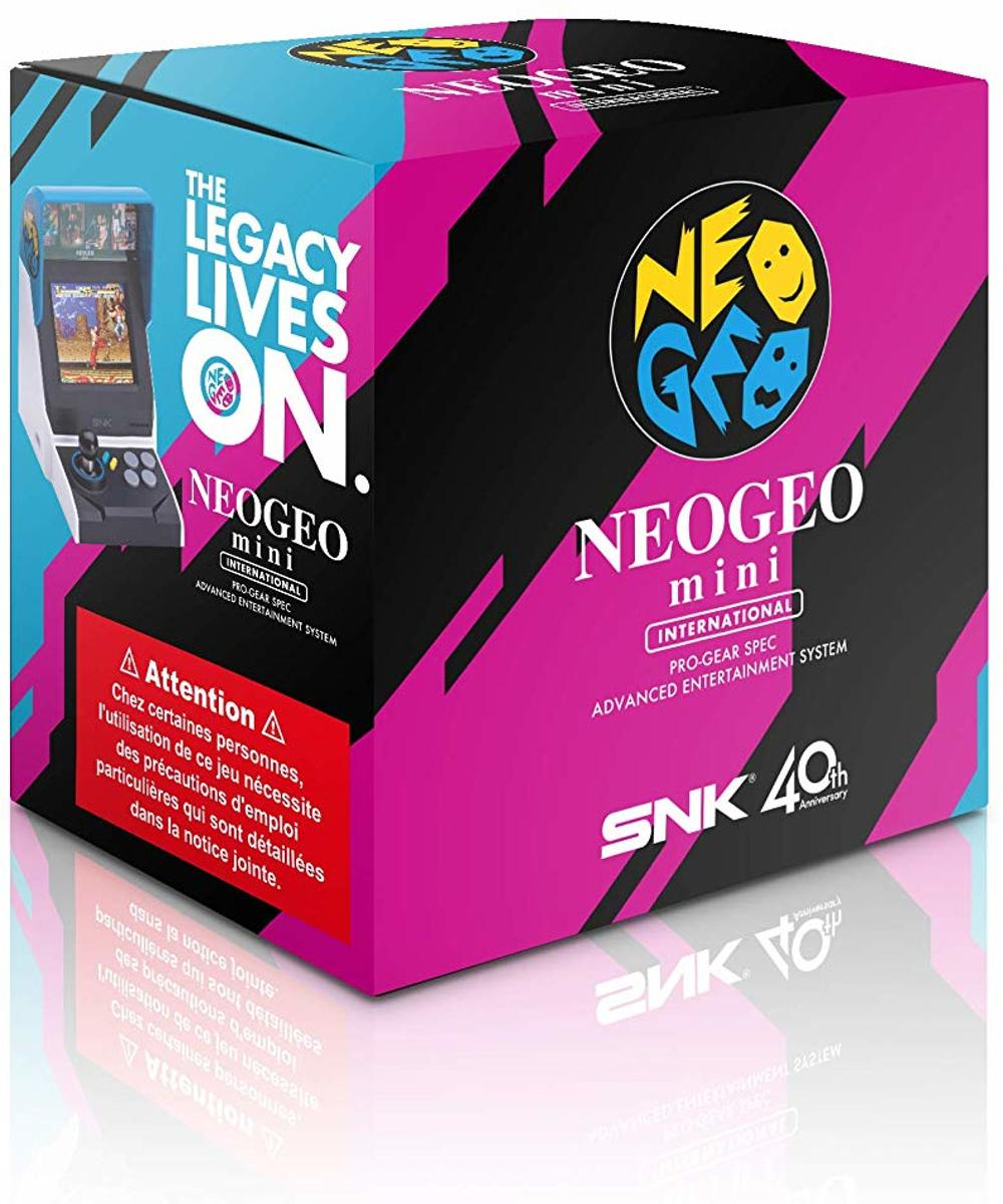 Neo Geo Mini HD International Edition