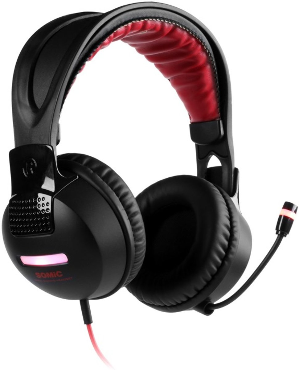 Somic G956 7.1 Gaming Headset - Zwart