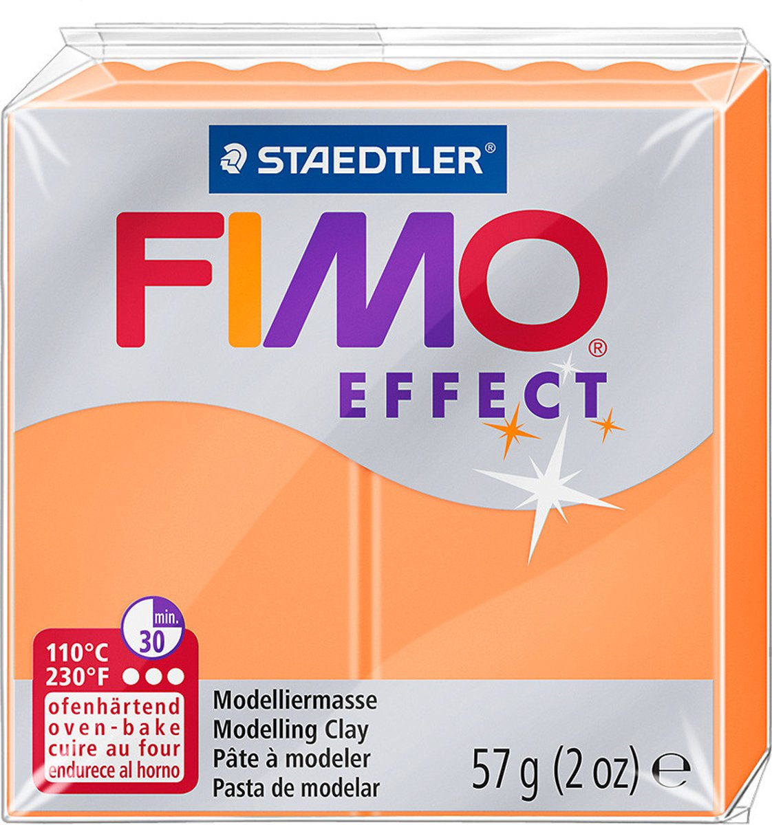 Fimo Effect klei neon orange
