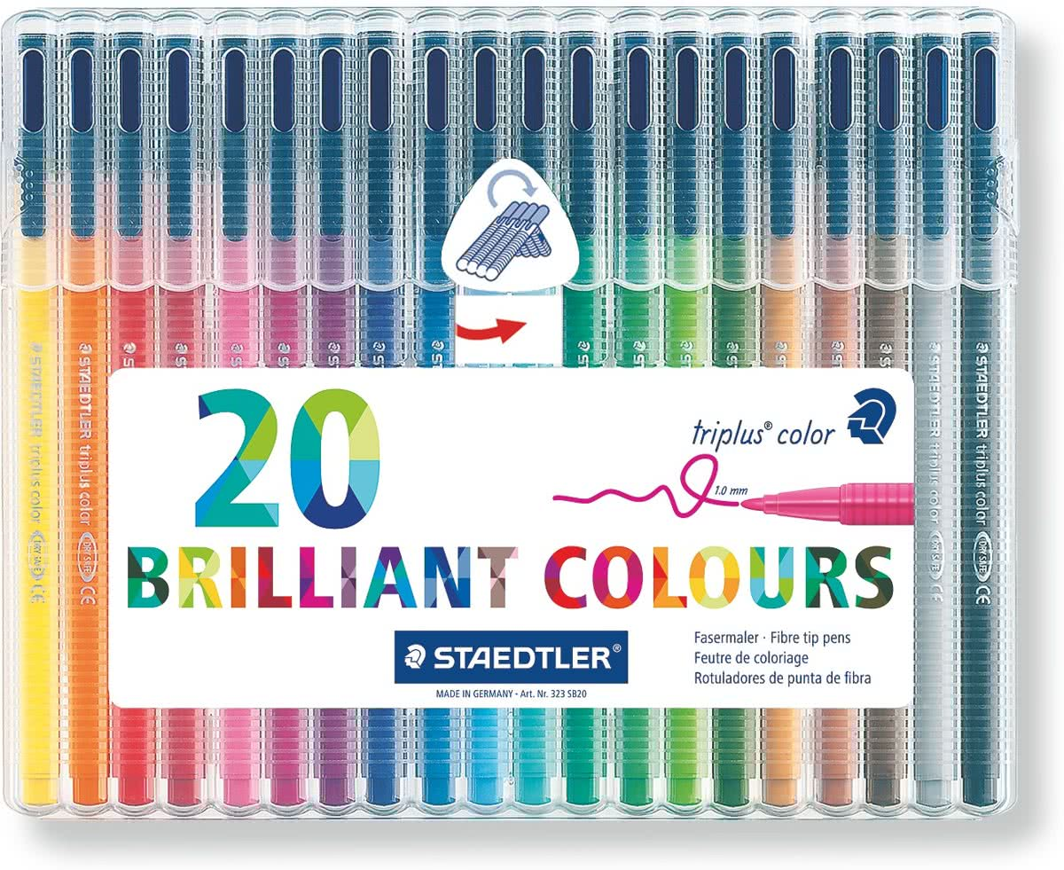 Triplus color kleurstift - Box 20 st