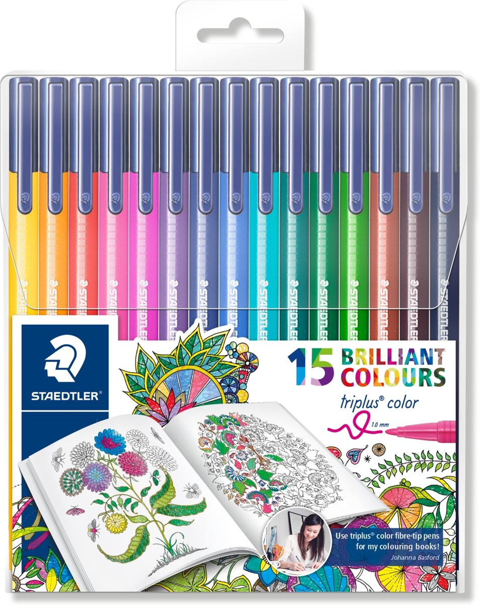 triplus color kleurstift - etui 15 st special edition