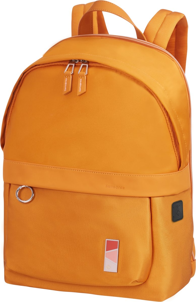 Samsonite Laptoprugzak - Pow-Her Backpack 14.1 inch Dark Yellow