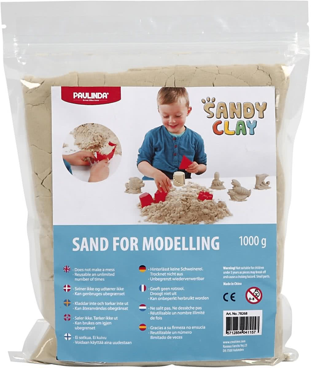 Sandy Clay®, 1 kg, naturel