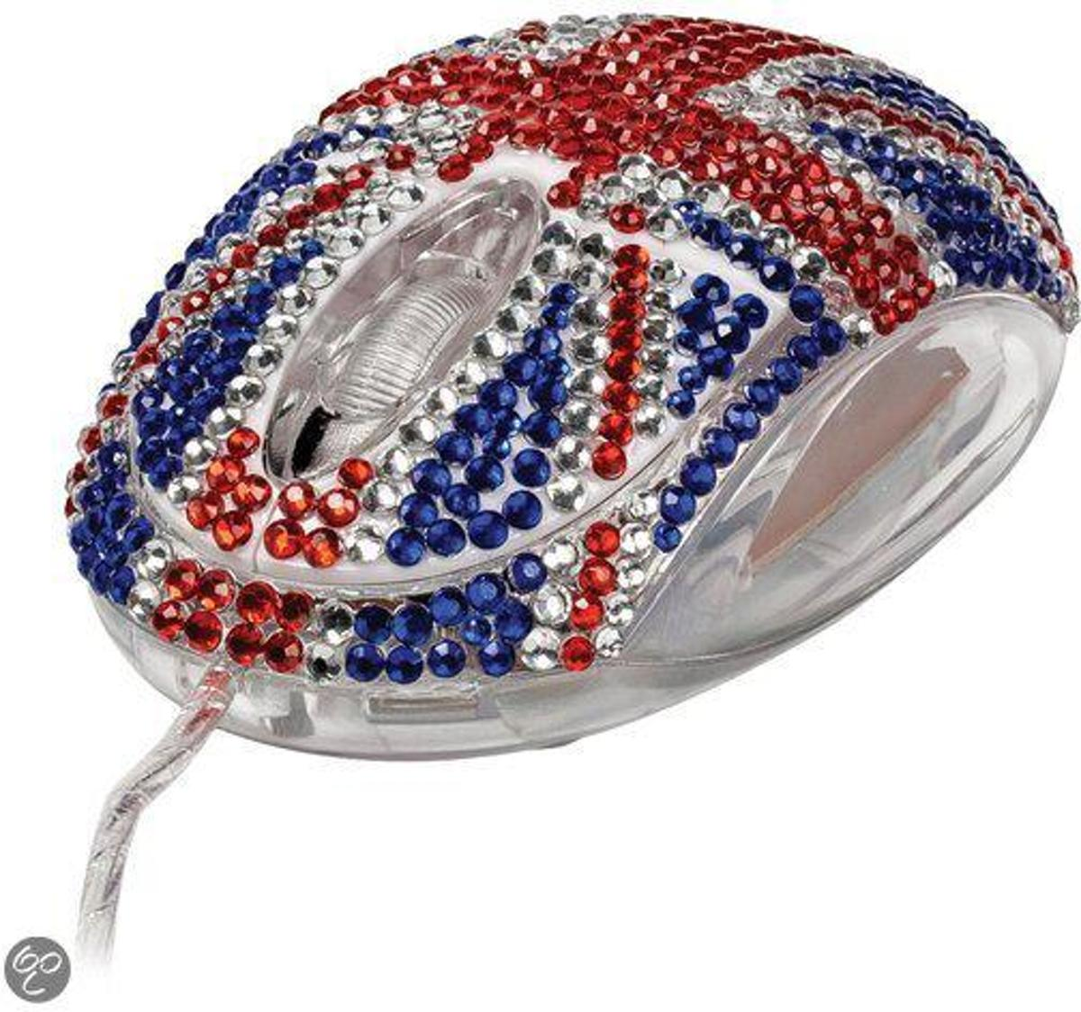 Diamante Flag Mouse - Diamanten muis