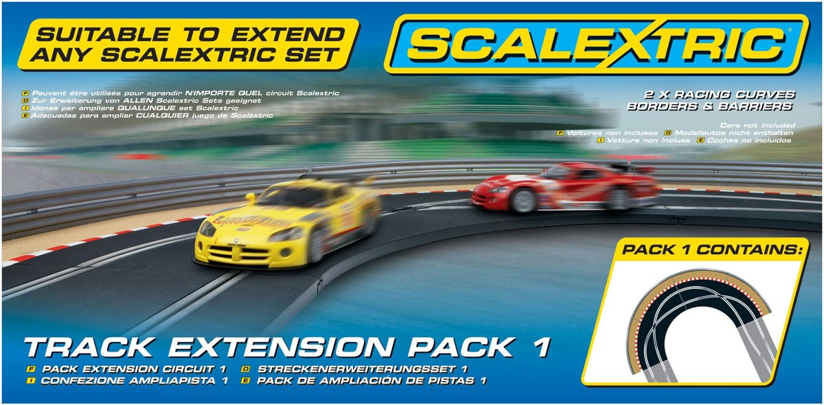 - Track Extension Pack 1 Racing Curve (Sc8510)