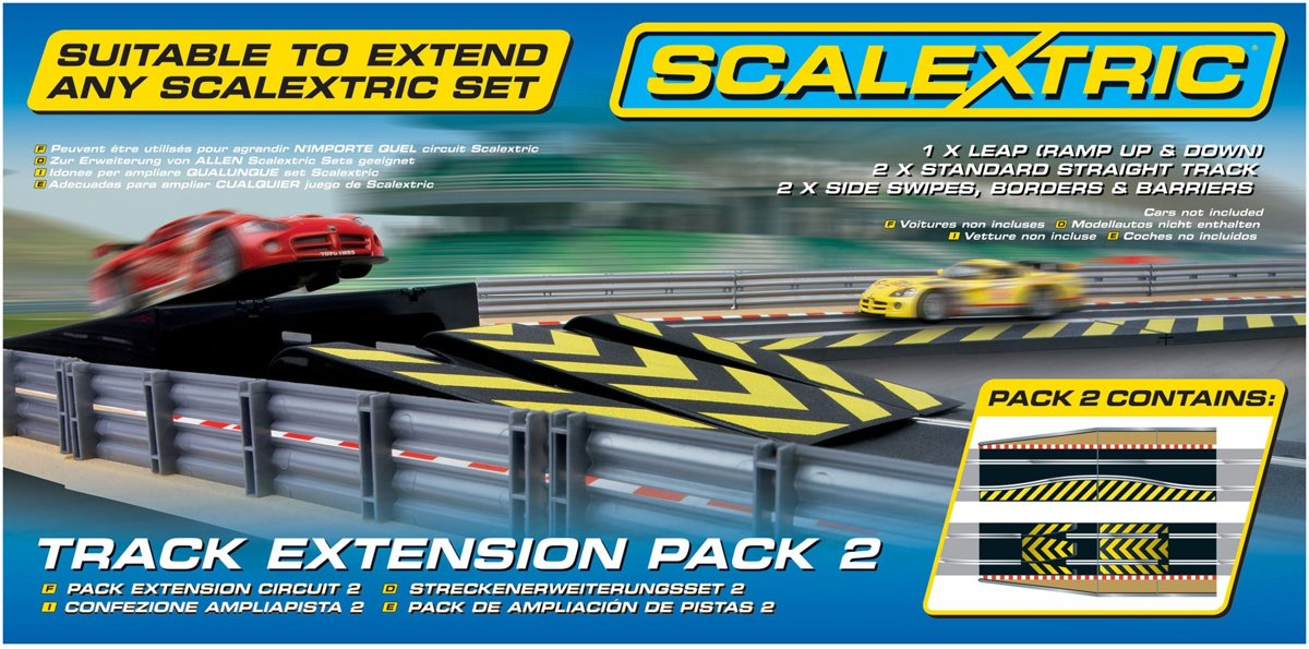 - Track Extension Pack 2 Leap & Chicane (Sc8511)