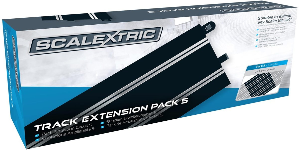 - Track Extension Pack 5 8 X Standard Straights (Sc8554)