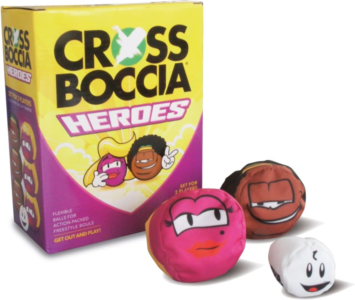 Fun Sports - Crossboccia Set voor 2 spelers - Blond and Muffin