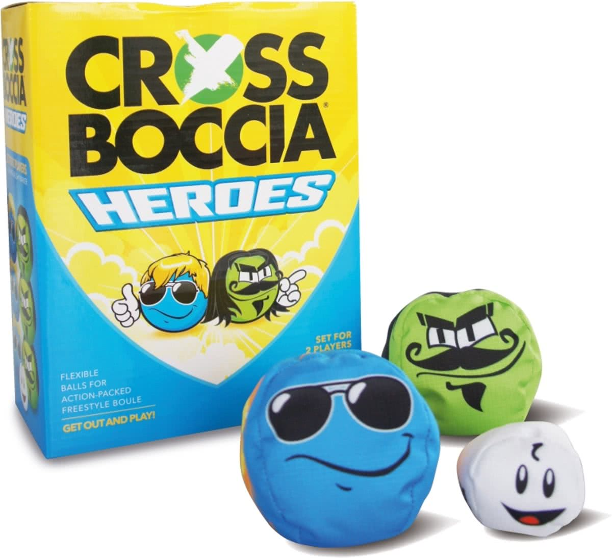 Fun Sports - Crossboccia Set voor 2 spelers - Mexican and Dude