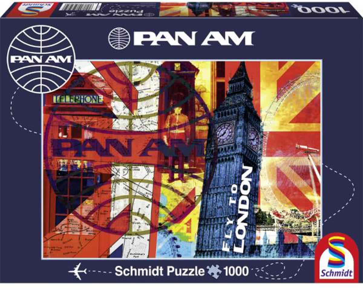 Schmidt Puzzel - Fly to London