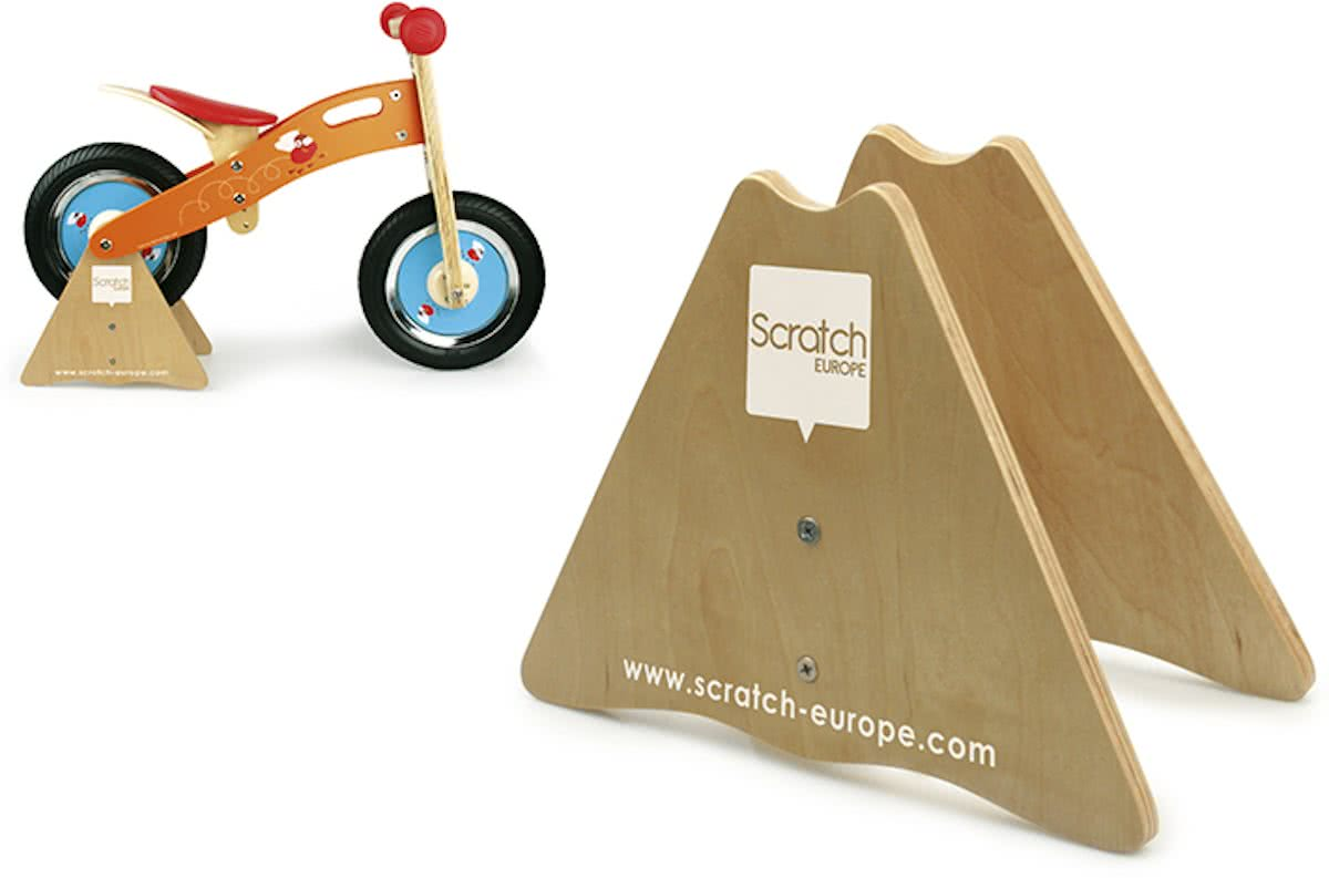 Scratch Move-It: - Steun voor Balance Bike - 19,5x13x35 cm