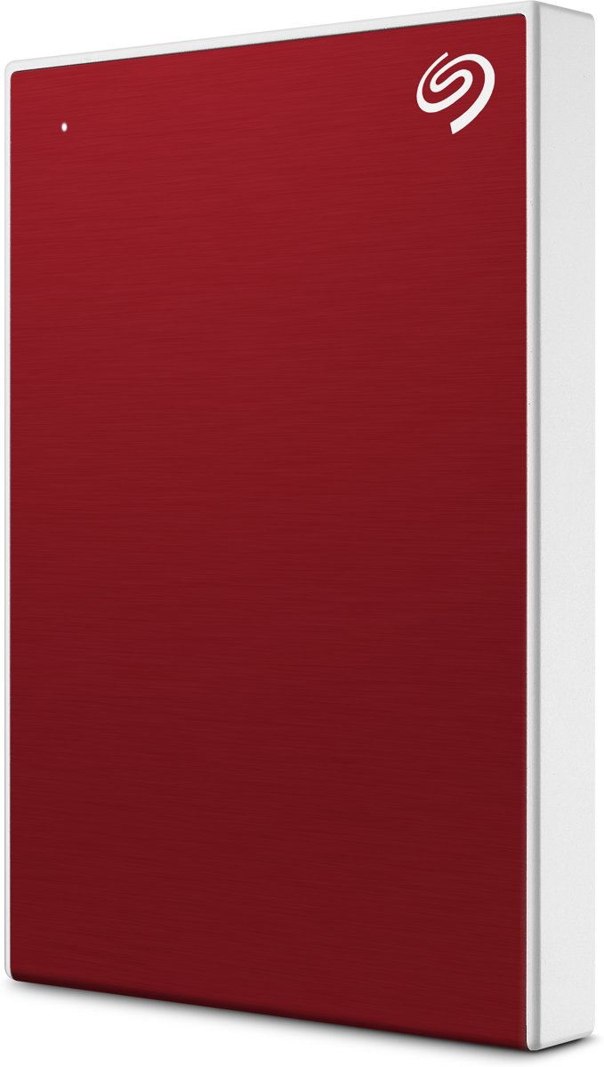 Backup Plus Slim - 1 TB - Rood