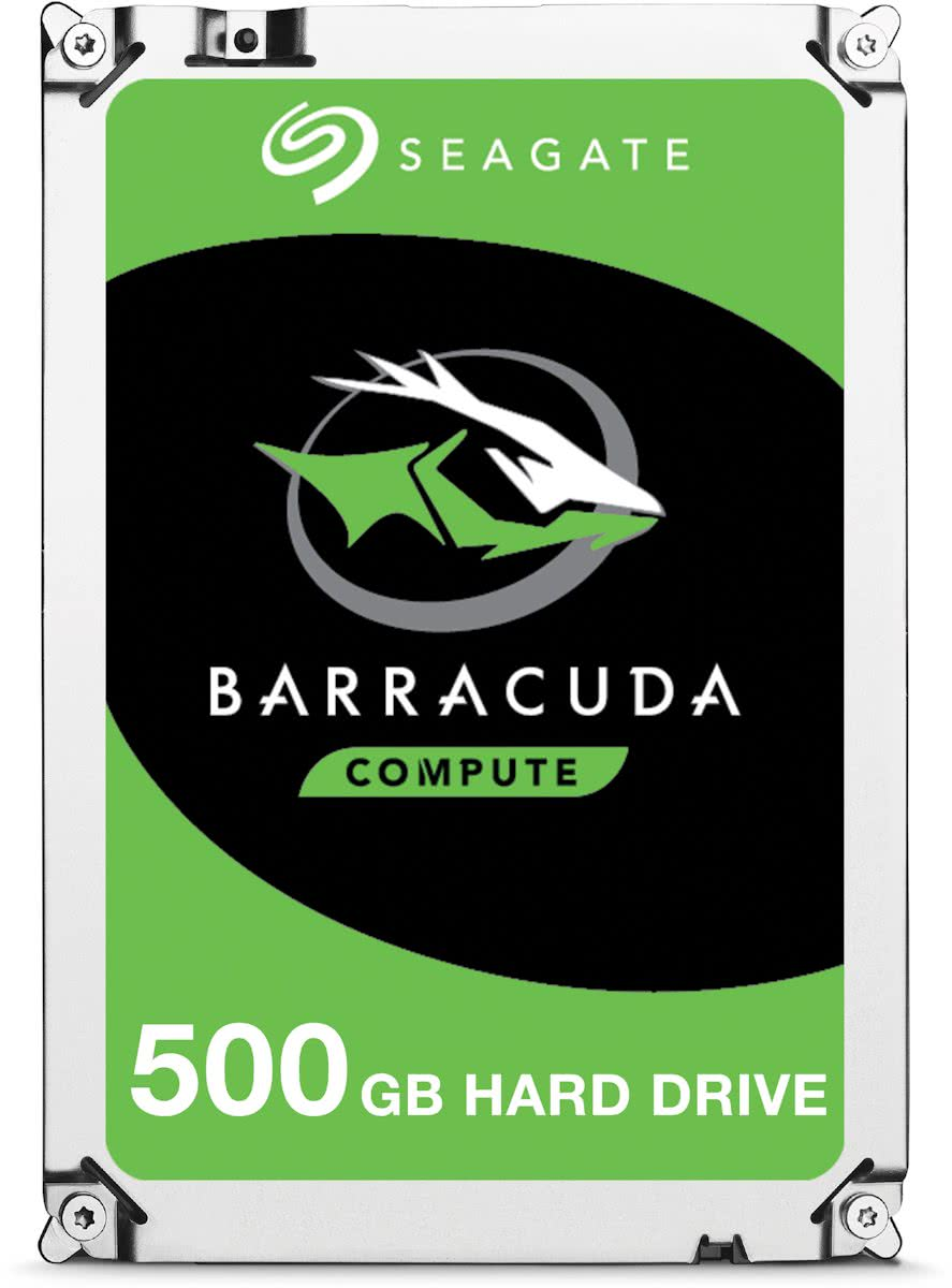 Seagate BarraCuda - Interne harde schijf - 500 GB