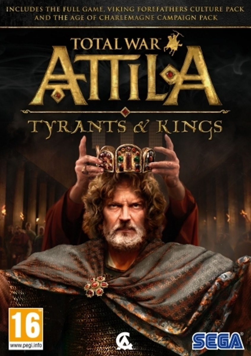 SEGA Total War: ATTILA - Tyrants & Kings Basic + Add-on PC Engels video-game