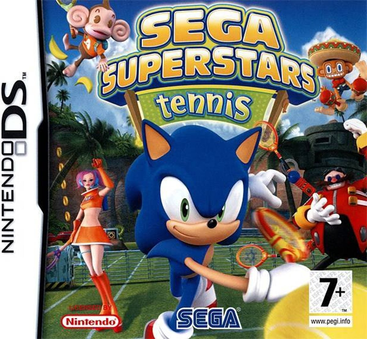 Sega superstar  Tennis /NDS