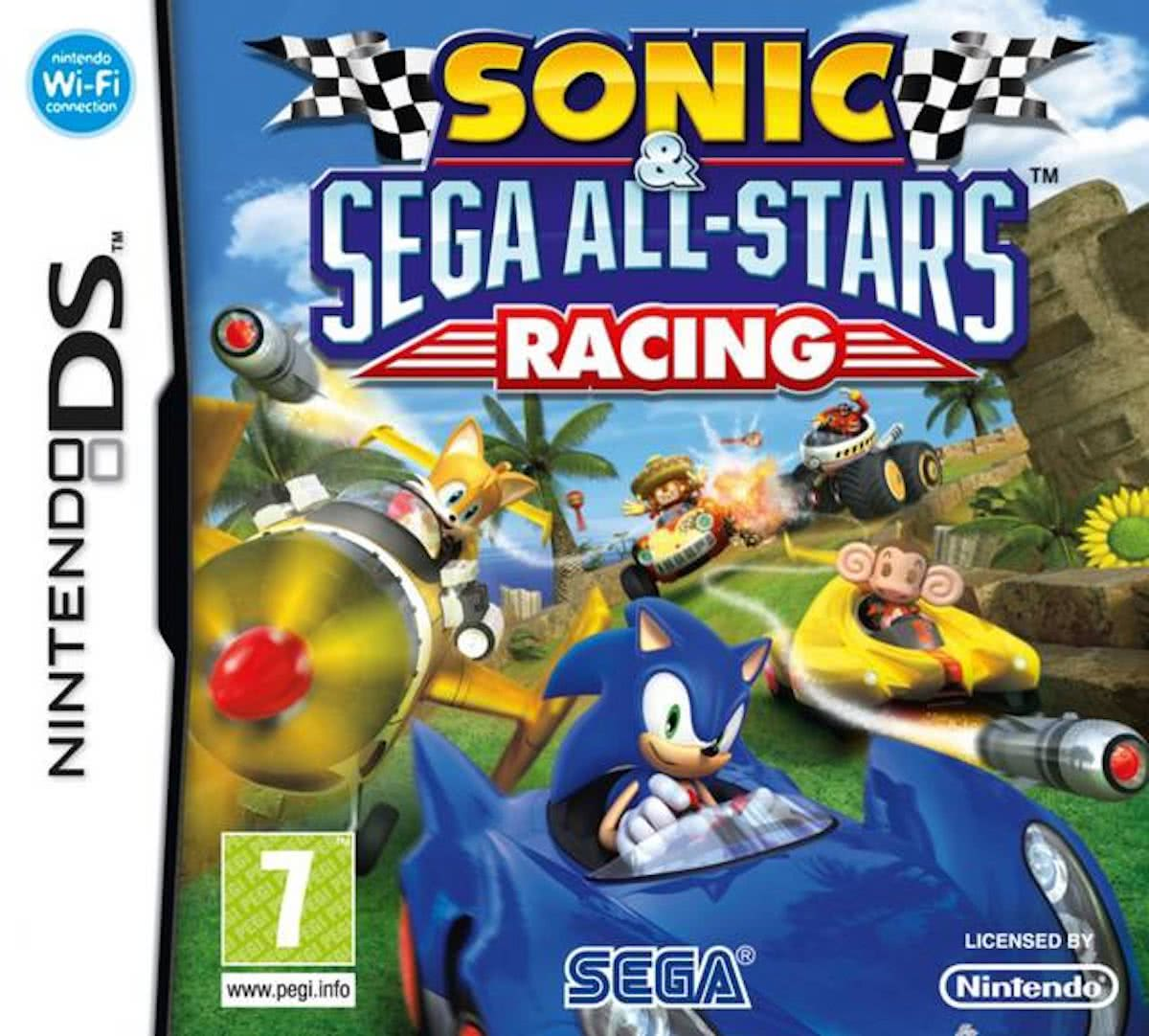 Sonic & SEGA All-Stars Racing /NDS