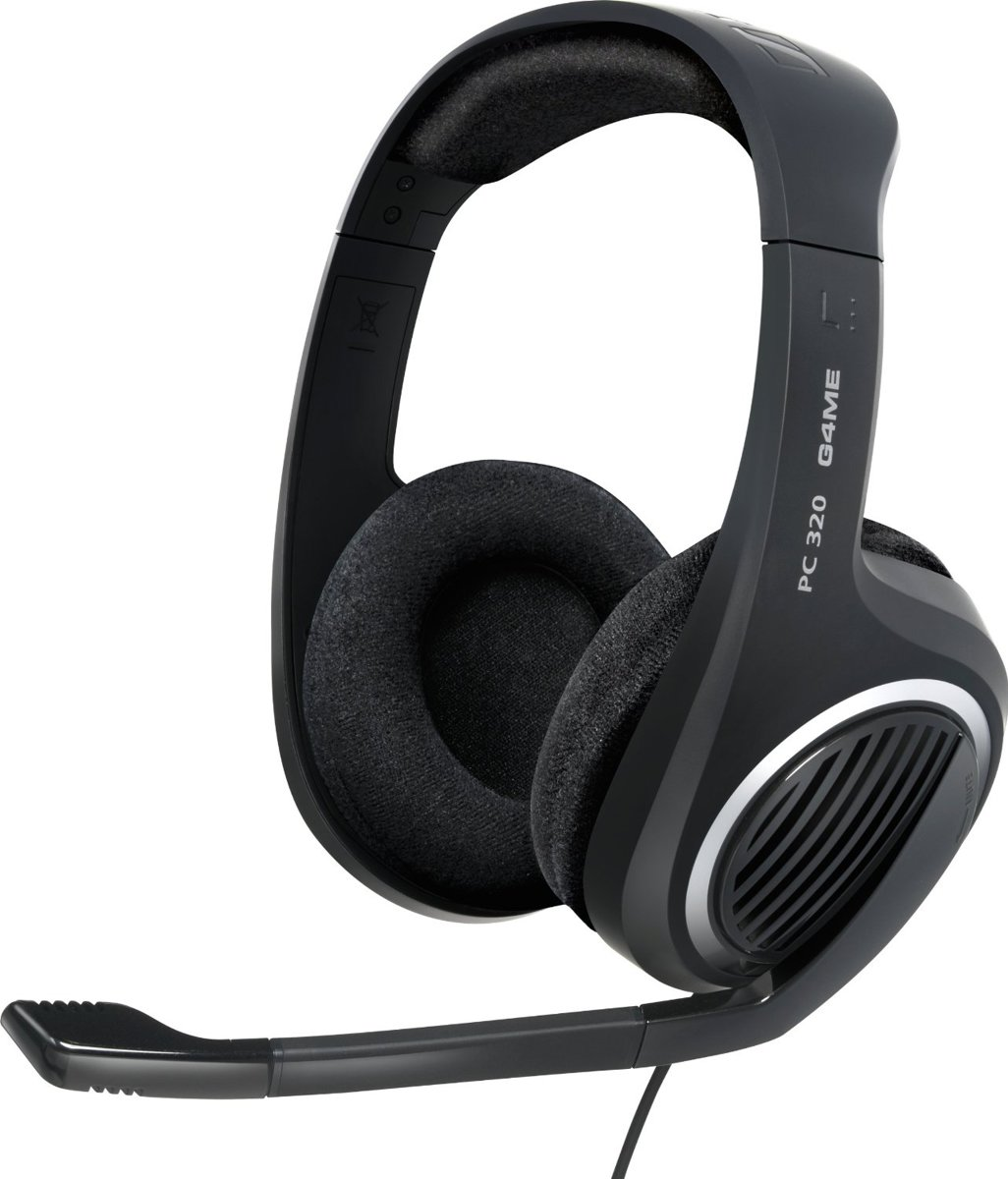 PC 320 - Game headset - Zwart