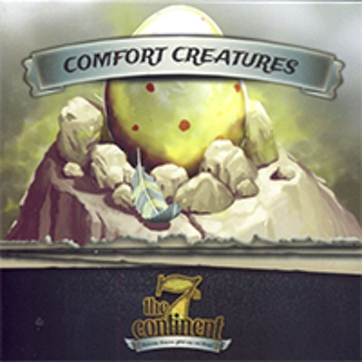 Bordspel - 7th Continent: Comfort Creatures EN