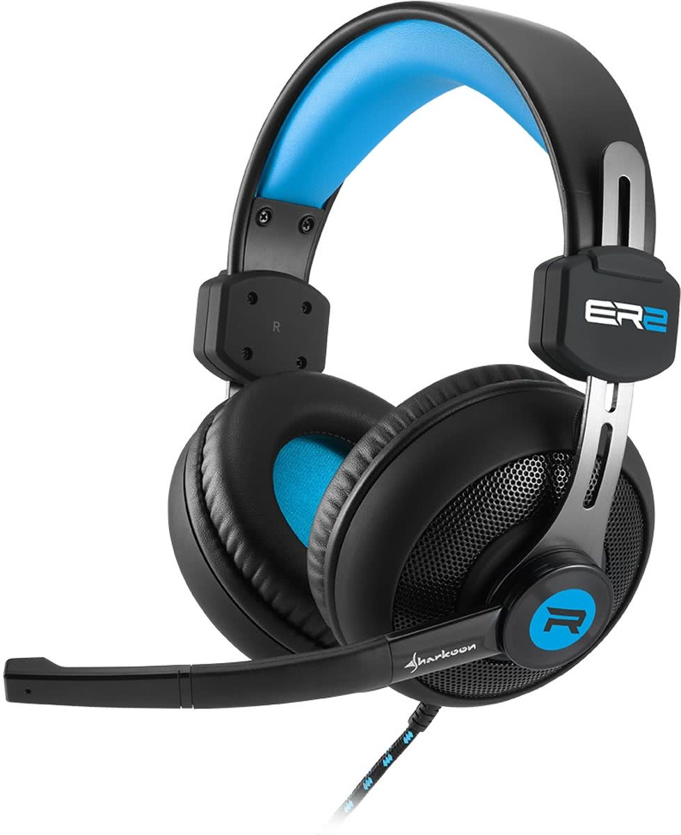 Sharkoon RUSH ER2 - Gaming Headset (Blauw)