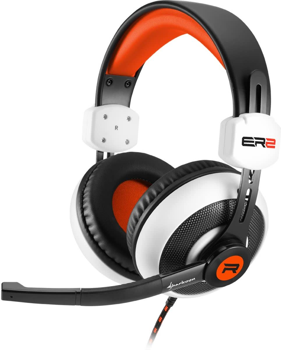 Sharkoon RUSH ER2 - Gaming Headset (Wit)
