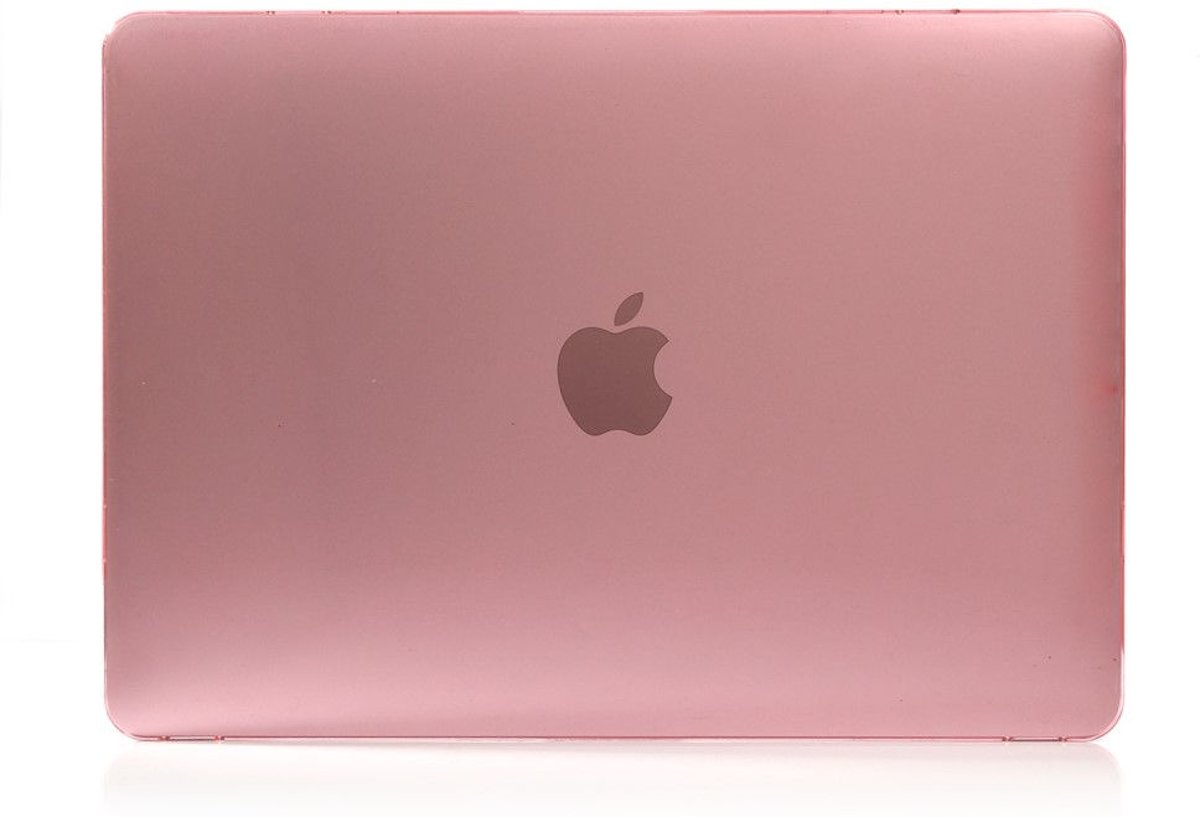 Shop4 - MacBook Air 13 inch (2018) Hoes - Hardshell Cover Roze