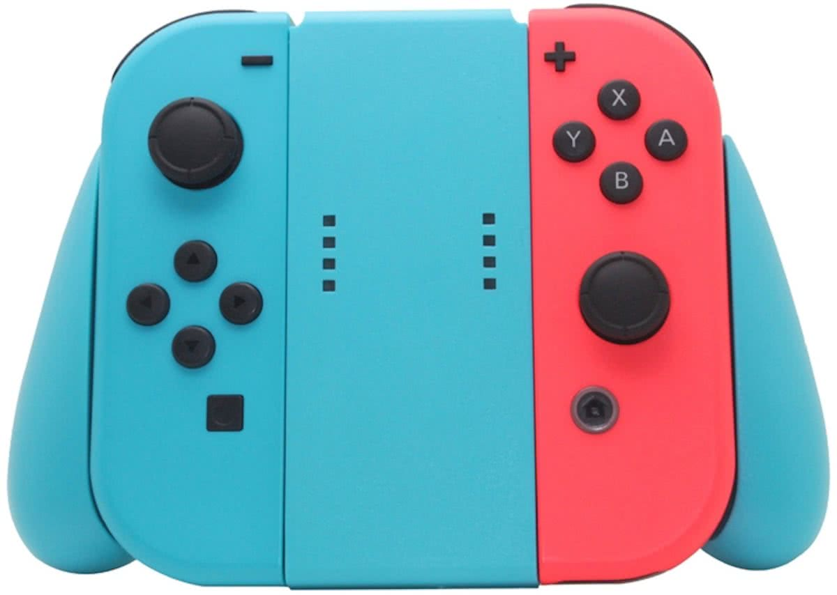 - Nintendo Switch - Joy-Con Controller Grip Blauw