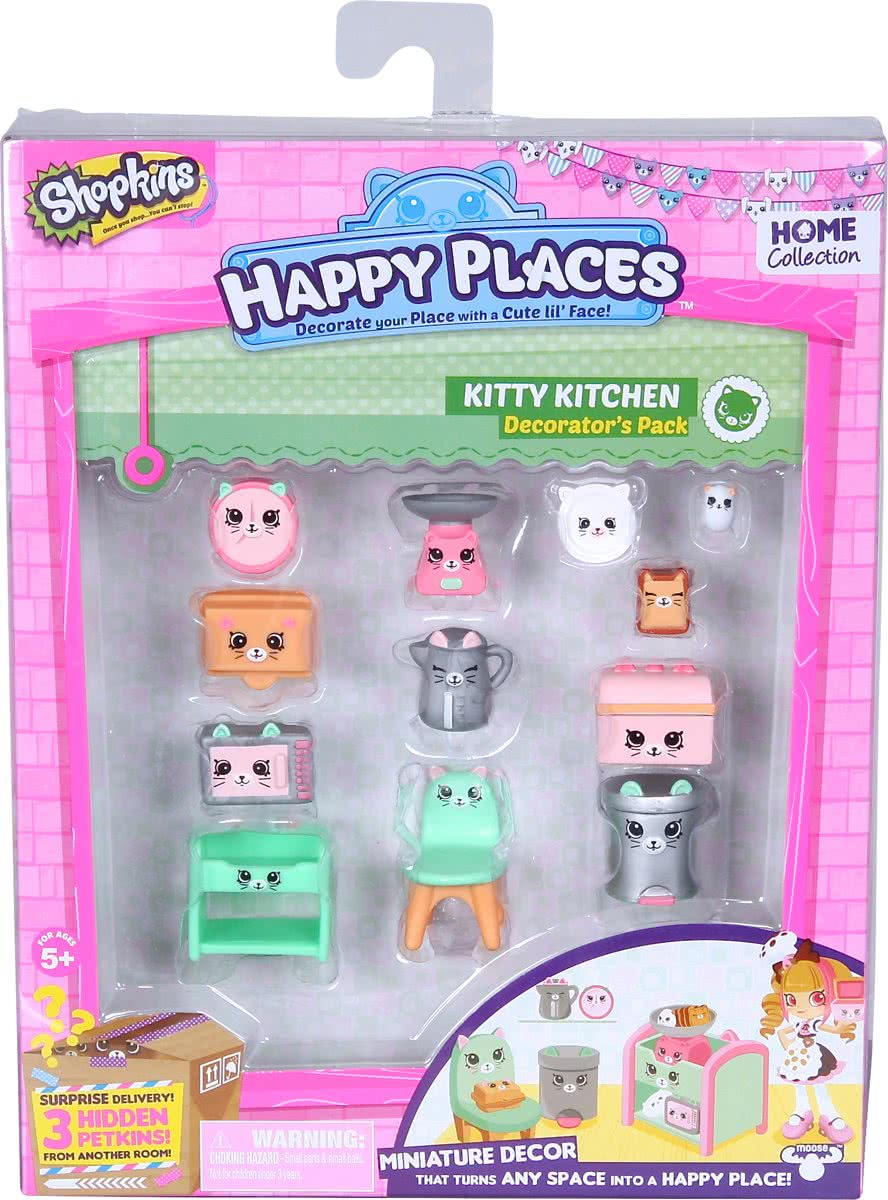 Shopkins - Deco Koffer - Kitty Kitchen