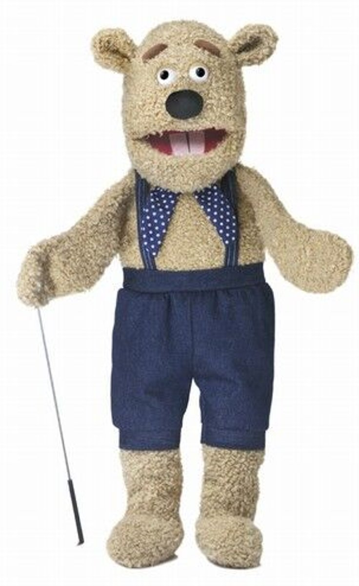 Sillypuppets Teddy Beer met Armrod 28