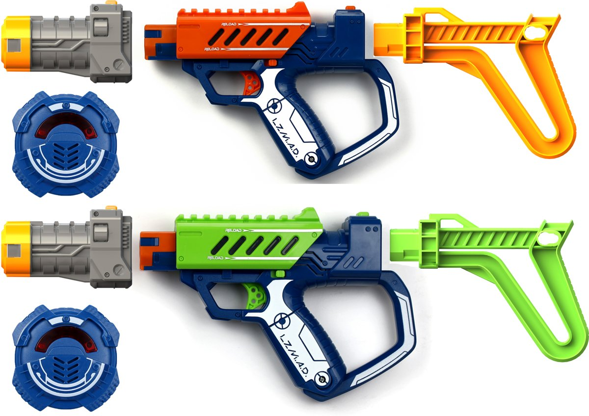 Laser Mad Advance Deluxe battle Ops Duo set