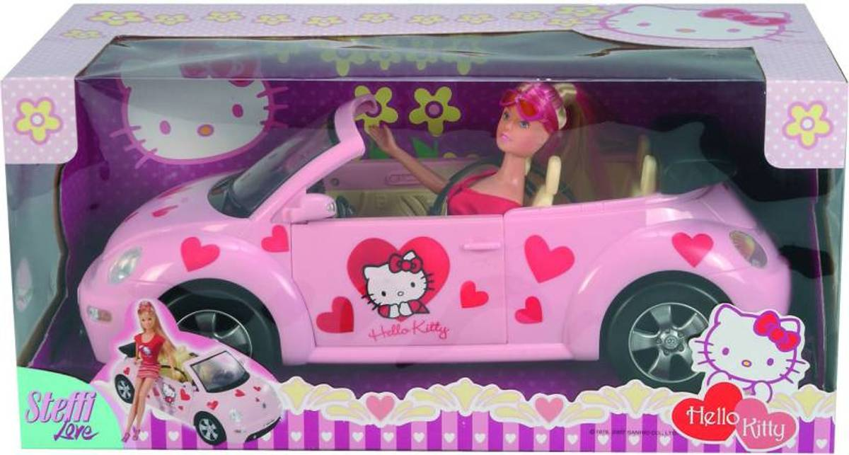 Hello Kitty Steffi met Beetle Cabrio