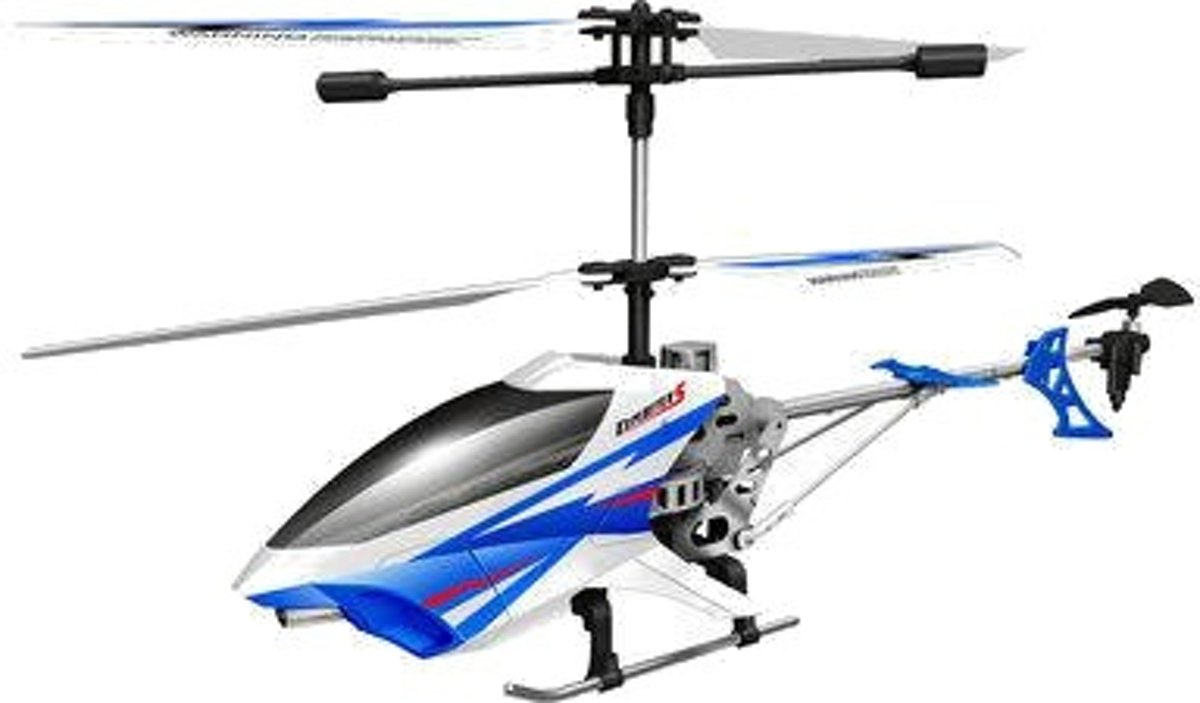 Sky Rover Exploiter S - RC Helicopter - Blauw / Wit