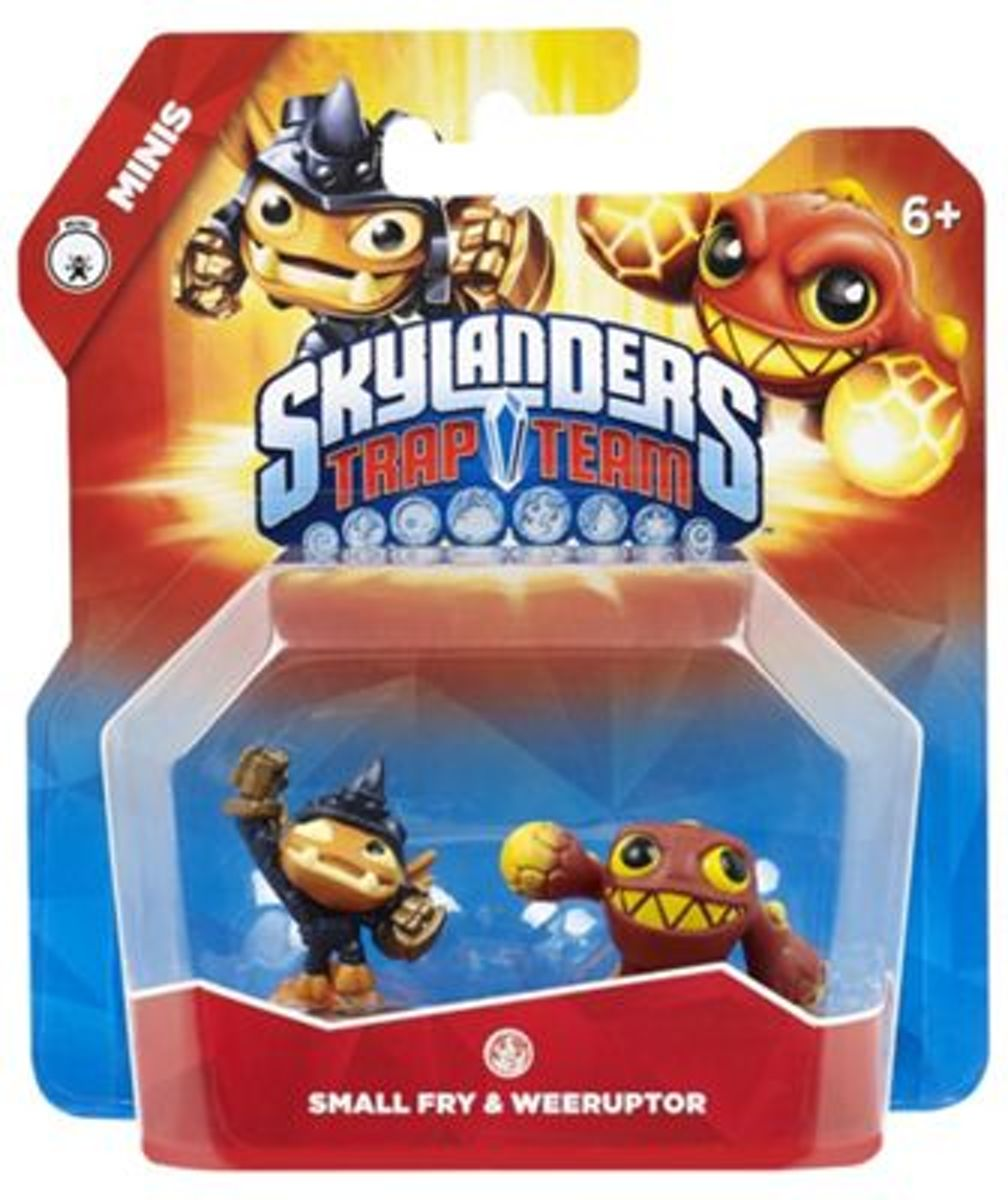 SKYLANDERS TRAP TEAM SMALL FRY EN WEERUPTOR