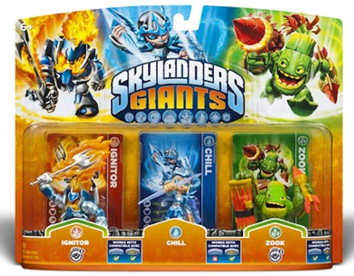 Giants: Adventure Triple Pack Chill, Zook, Ignitor