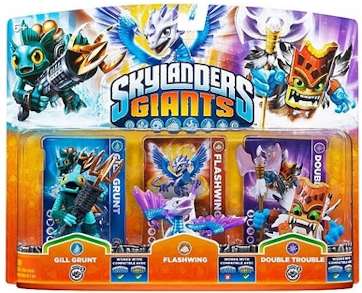 Giants: Adventure Triple Pack Flashwing, Gill Grunt, Double Trouble