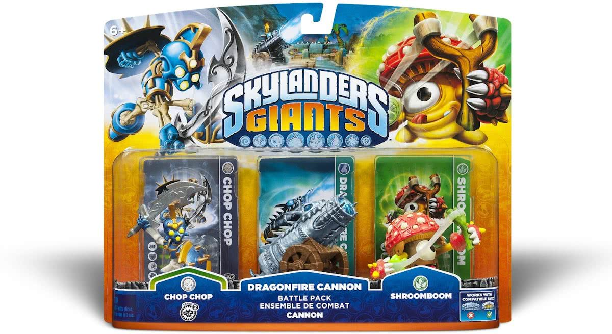 Giants: Battle Pack Chop Chop, Shroomboom, Dragonfire Kanon
