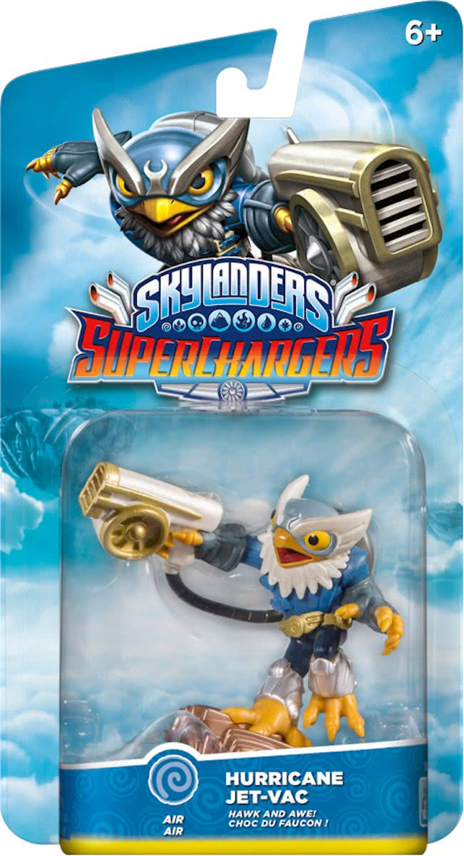 Superchargers FIGURINES - Drivers - Hurricane Jet Vac