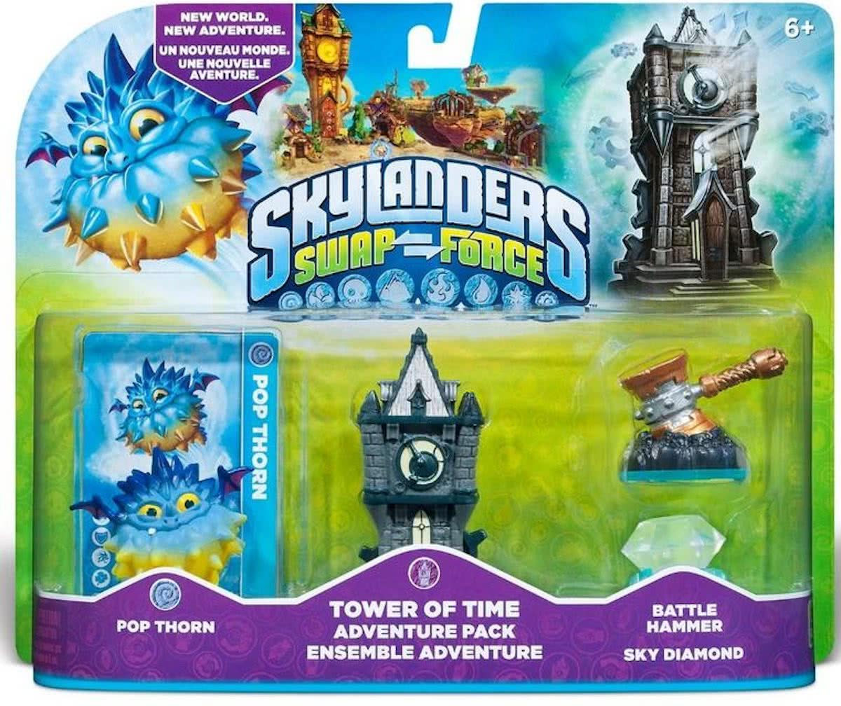 Swap Force: Adventure Pack Pop Thorn, Tower of Time, Battle Hammer, Sky Diamond