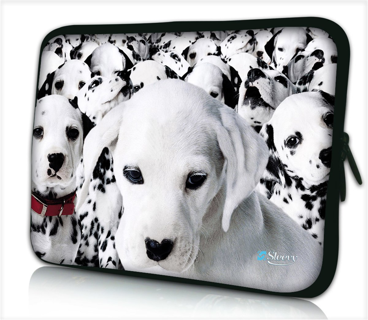 Laptophoes 14 inch dalmatiers - Sleevy