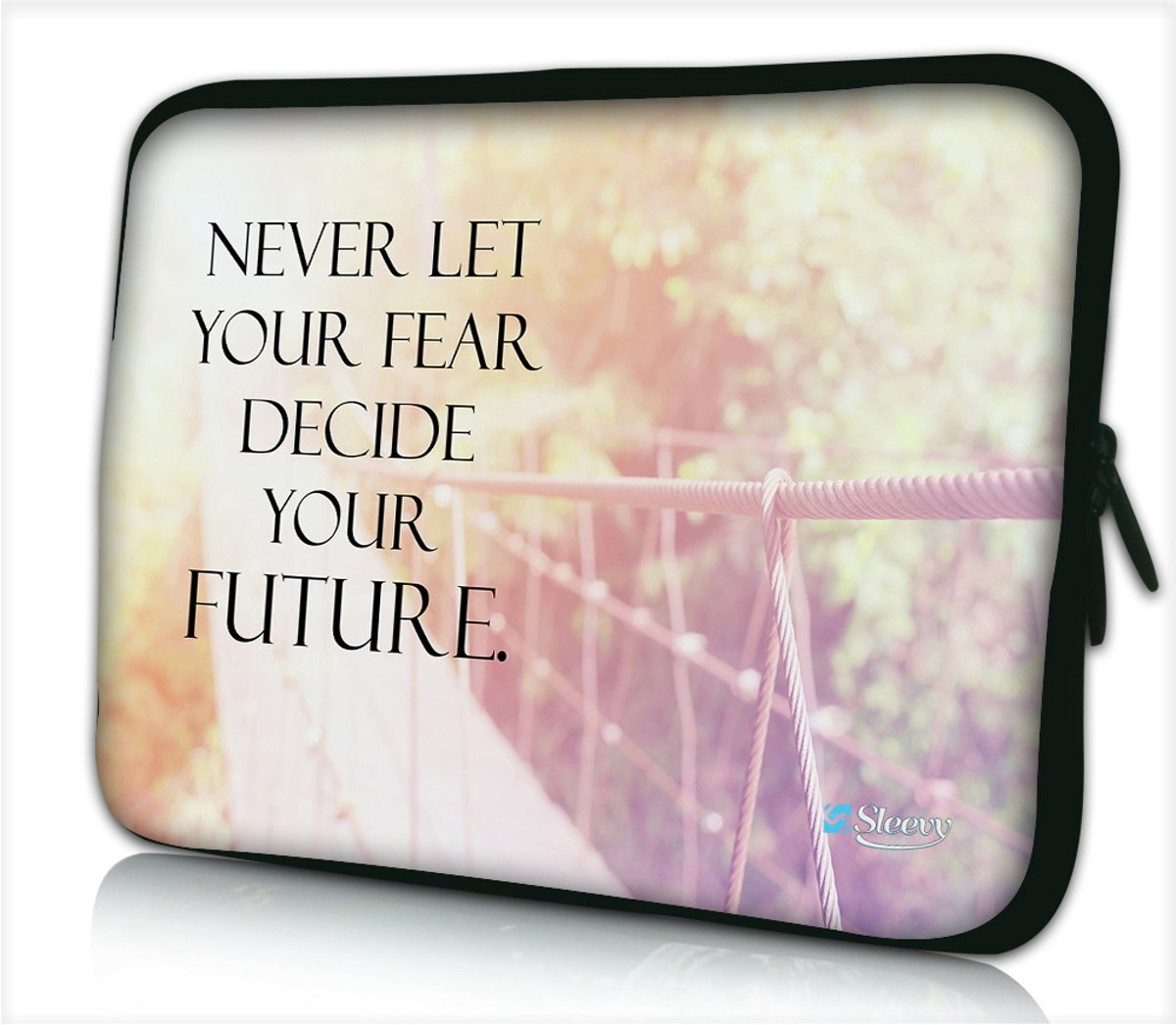 Laptophoes 15,6 inch fear and future - Sleevy - laptop sleeve
