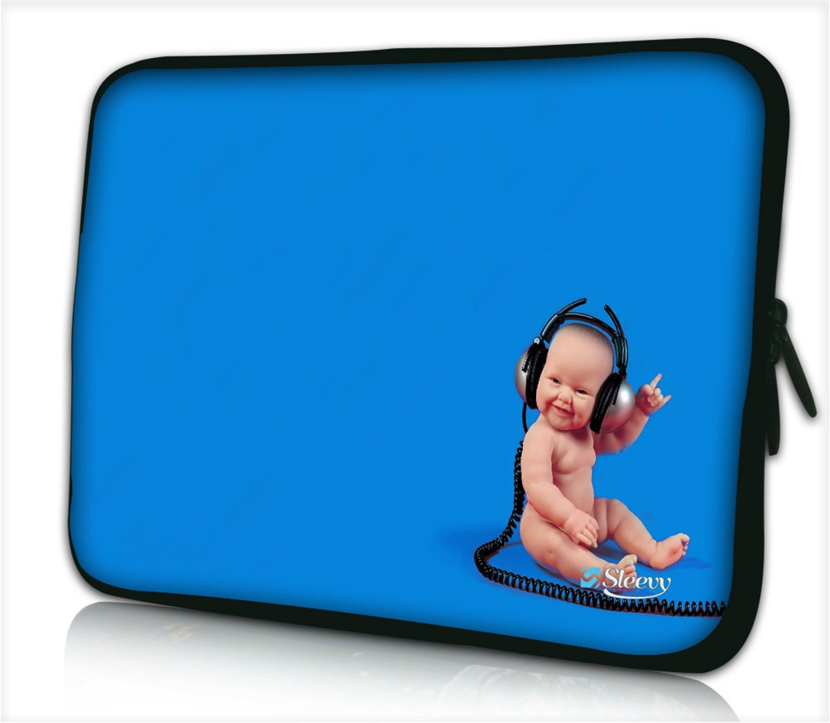 Laptophoes 17,3 inch baby rocks music - Sleevy