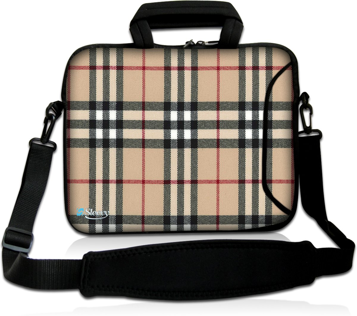 Laptoptas 15,6 inch ruiten chic - Sleevy