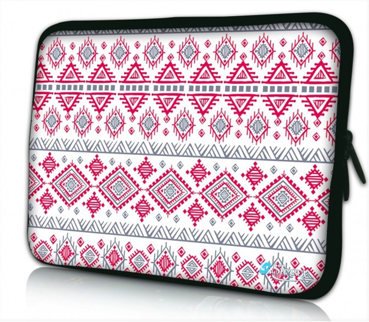Sleevy 10 laptop/tablet hoes artistiek patroon - tabletsleeve - tablet sleeve - ipad sleeve