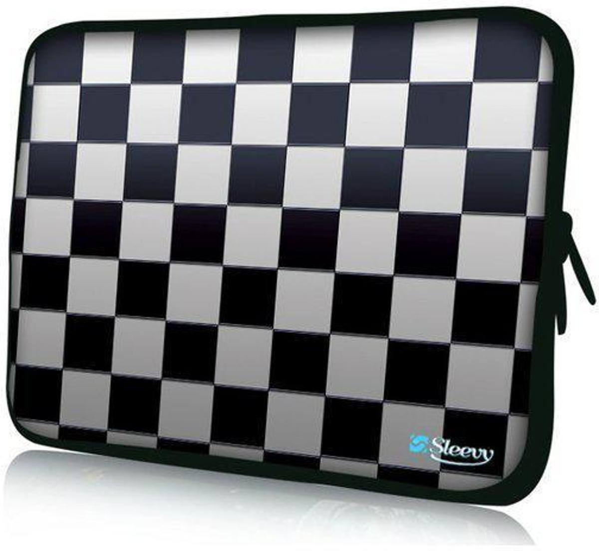 Sleevy 10 laptop/tablet hoes schaakbord - tabletsleeve - tablet sleeve - ipad sleeve